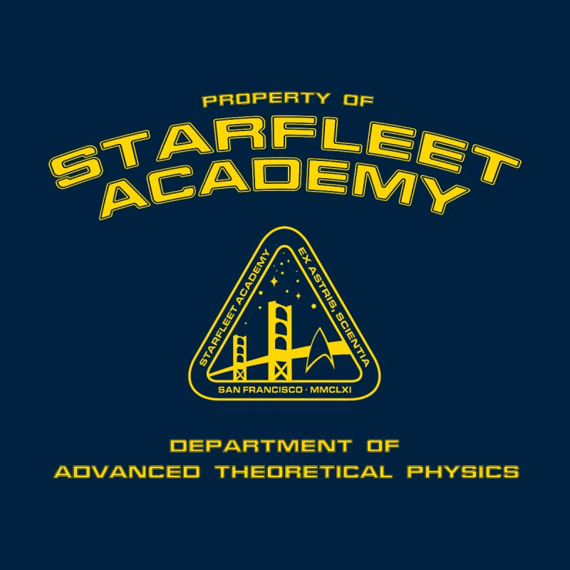 Starfleet Academy - Department of Advanced Theoretical Physics None  by khurst's Artist Shop