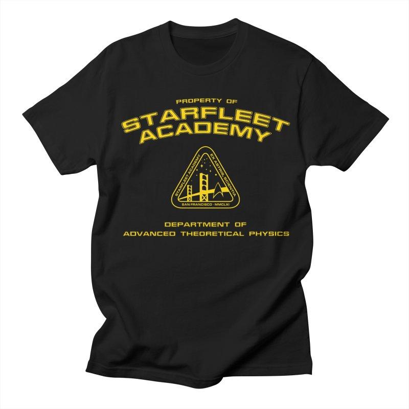 Starfleet Academy - Department of Advanced Theoretical Physics Men's T-shirt by khurst's Artist Shop