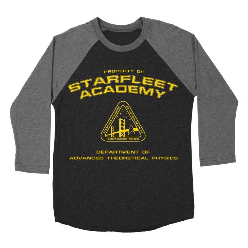 Starfleet Academy - Department of Advanced Theoretical Physics Men's Baseball Triblend T-Shirt by khurst's Artist Shop