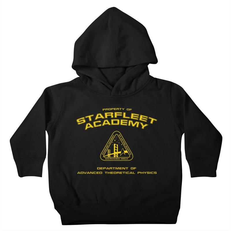 Starfleet Academy - Department of Advanced Theoretical Physics Kids Toddler Pullover Hoody by khurst's Artist Shop