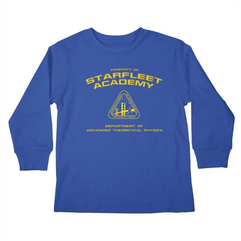 Starfleet Academy - Department of Advanced Theoretical Physics Kids Longsleeve T-Shirt by khurst's Artist Shop