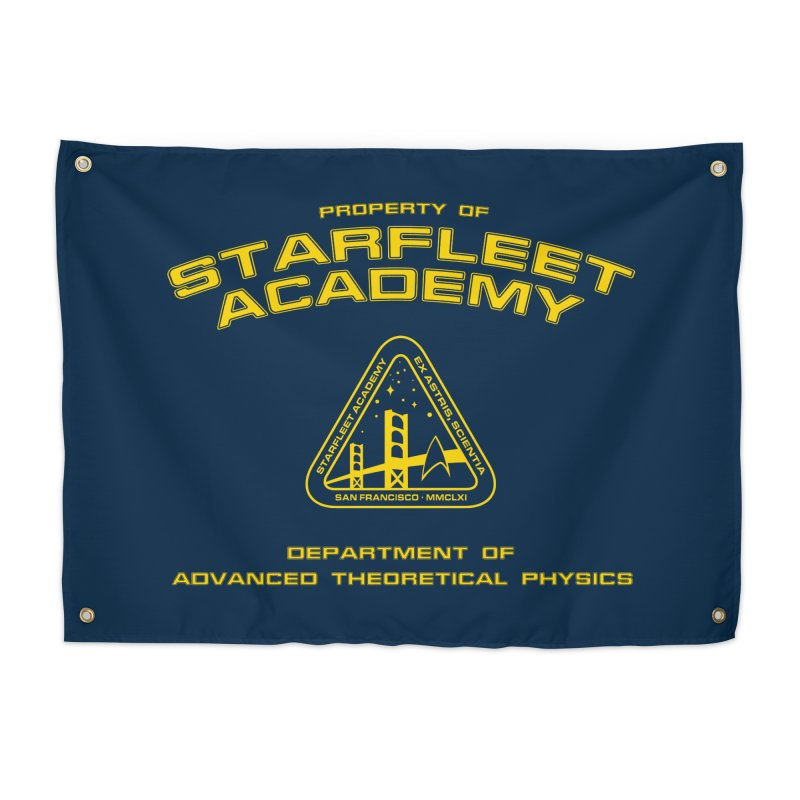 Starfleet Academy - Department of Advanced Theoretical Physics Home Tapestry by khurst's Artist Shop