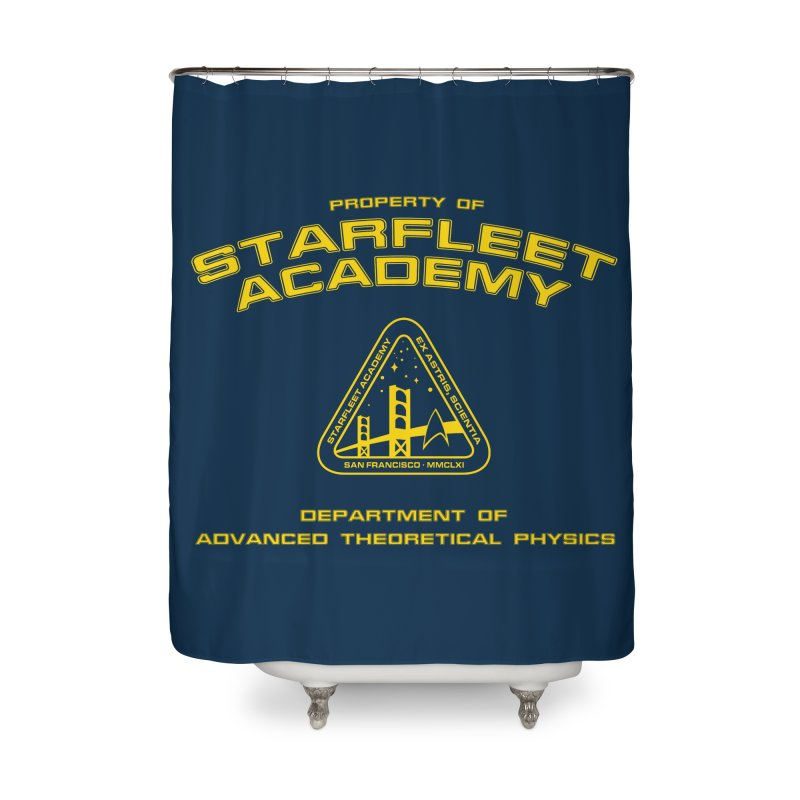 Starfleet Academy - Department of Advanced Theoretical Physics Home Shower Curtain by khurst's Artist Shop