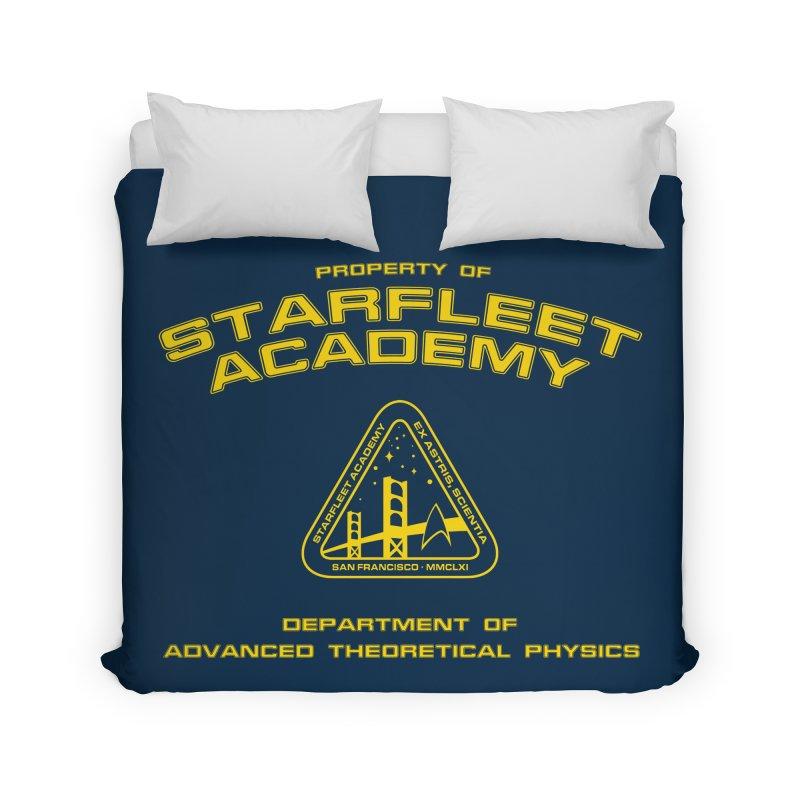 Starfleet Academy - Department of Advanced Theoretical Physics Home Duvet by khurst's Artist Shop