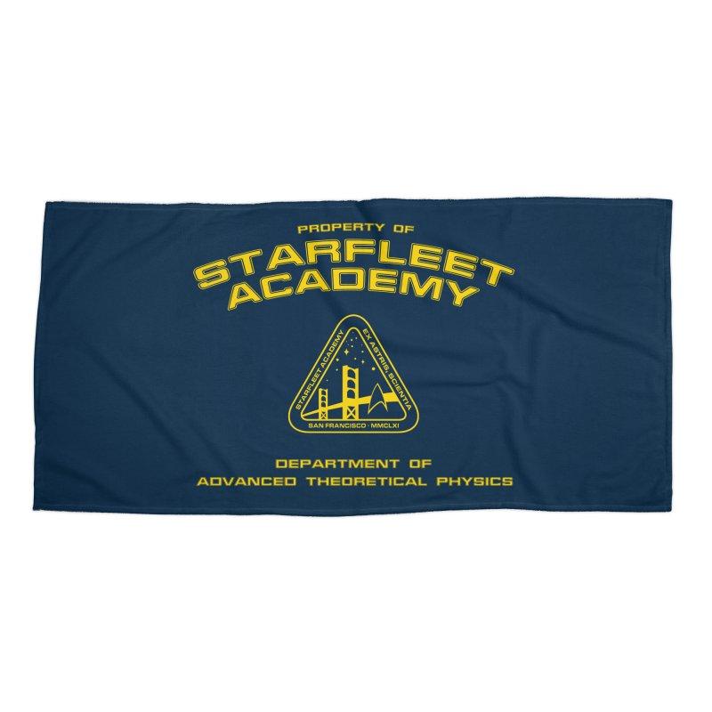 Starfleet Academy - Department of Advanced Theoretical Physics Accessories Beach Towel by khurst's Artist Shop