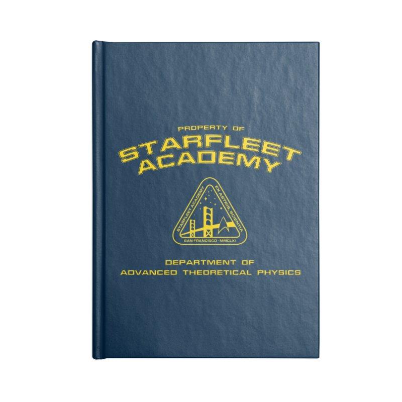 Starfleet Academy - Department of Advanced Theoretical Physics Accessories Notebook by khurst's Artist Shop