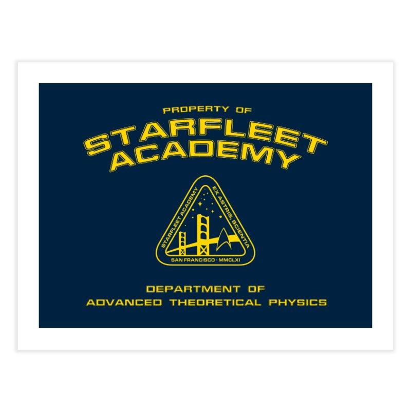 Starfleet Academy - Department of Advanced Theoretical Physics Home Fine Art Print by khurst's Artist Shop
