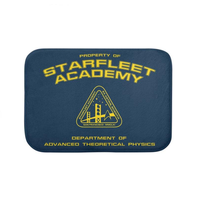 Starfleet Academy - Department of Advanced Theoretical Physics Home Bath Mat by khurst's Artist Shop