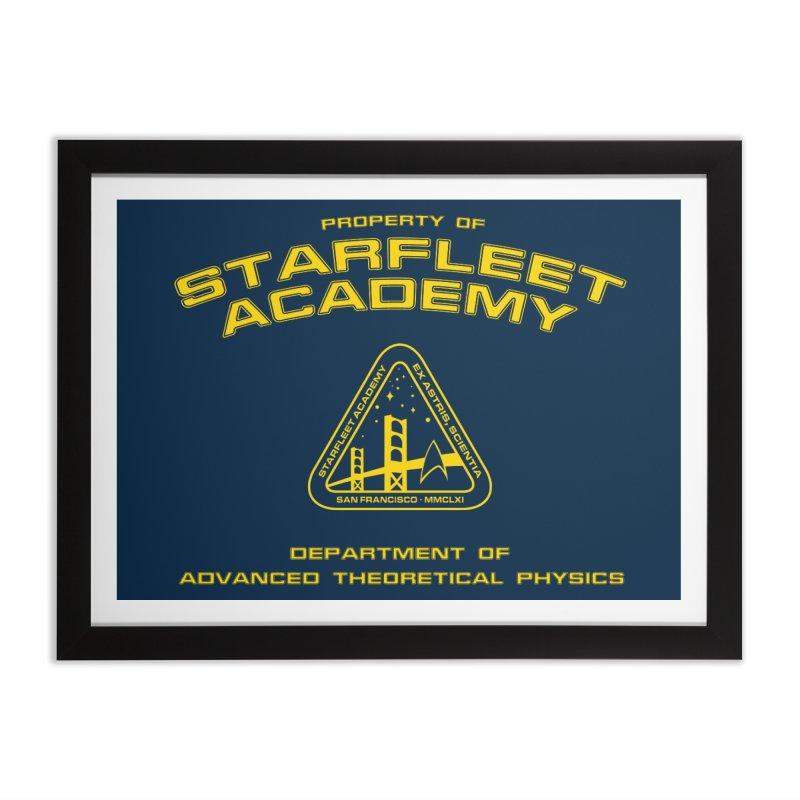 Starfleet Academy - Department of Advanced Theoretical Physics Home Framed Fine Art Print by khurst's Artist Shop