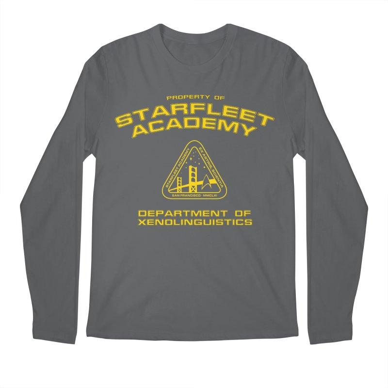 Starfleet Academy - Department of Xenolinguistics Men's Longsleeve T-Shirt by khurst's Artist Shop