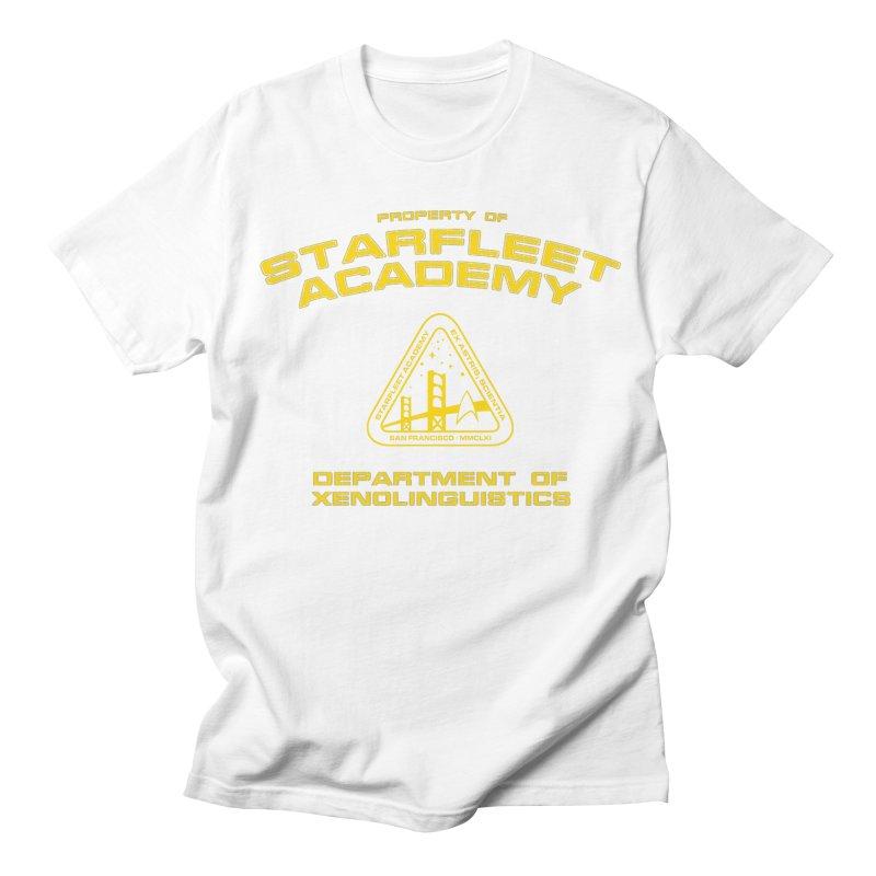 Starfleet Academy - Department of Xenolinguistics Men's T-shirt by khurst's Artist Shop
