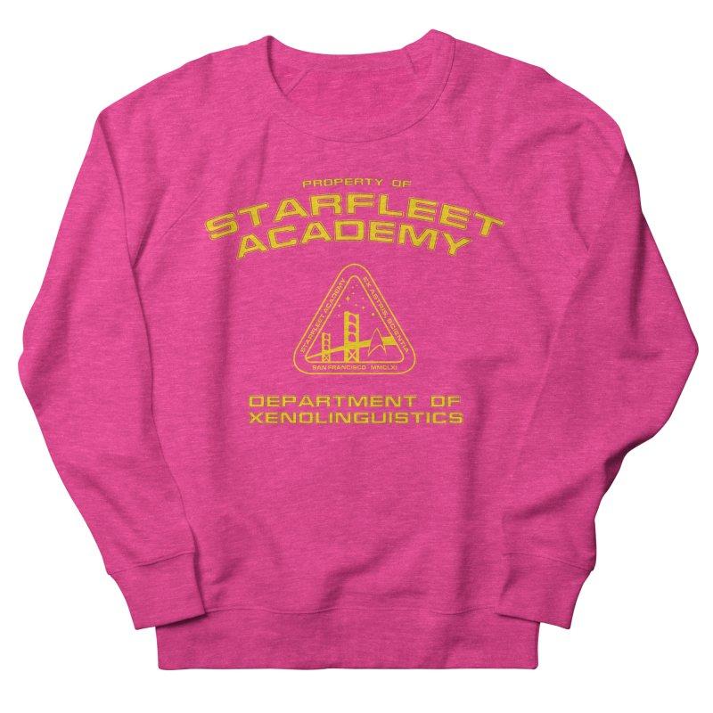 Starfleet Academy - Department of Xenolinguistics Women's Sweatshirt by khurst's Artist Shop
