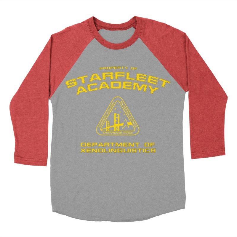 Starfleet Academy - Department of Xenolinguistics Men's Baseball Triblend T-Shirt by khurst's Artist Shop