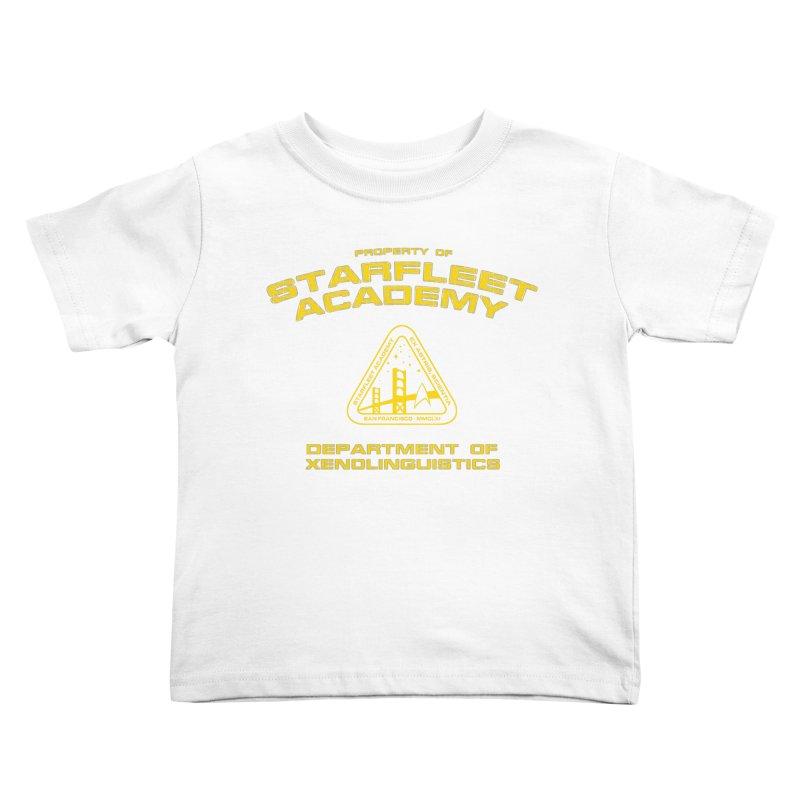 Starfleet Academy - Department of Xenolinguistics Kids Toddler T-Shirt by khurst's Artist Shop