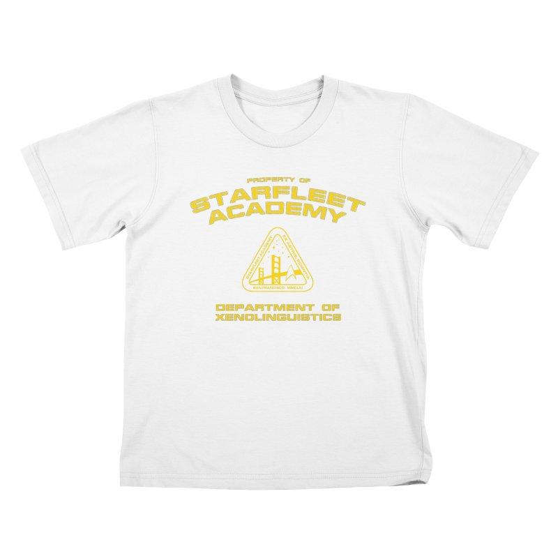 Starfleet Academy - Department of Xenolinguistics Kids T-shirt by khurst's Artist Shop