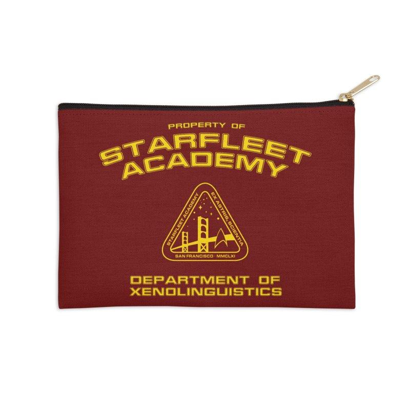 Starfleet Academy - Department of Xenolinguistics Accessories Zip Pouch by khurst's Artist Shop