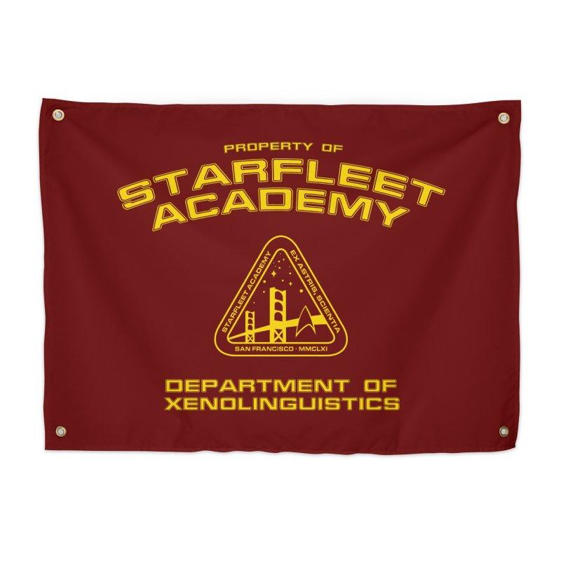 Starfleet Academy - Department of Xenolinguistics Home Tapestry by khurst's Artist Shop