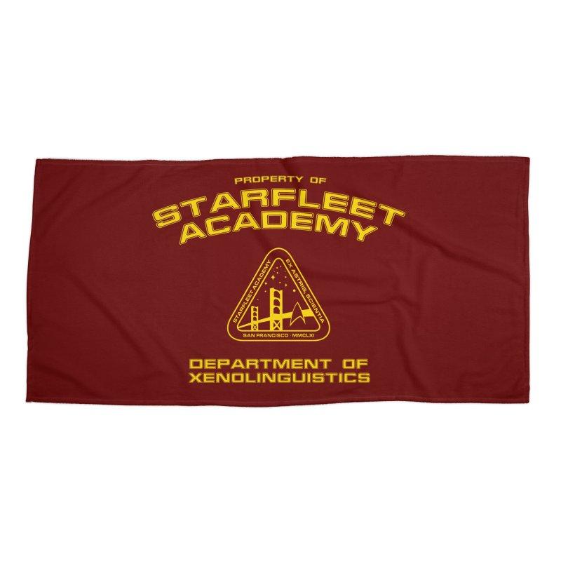 Starfleet Academy - Department of Xenolinguistics Accessories Beach Towel by khurst's Artist Shop