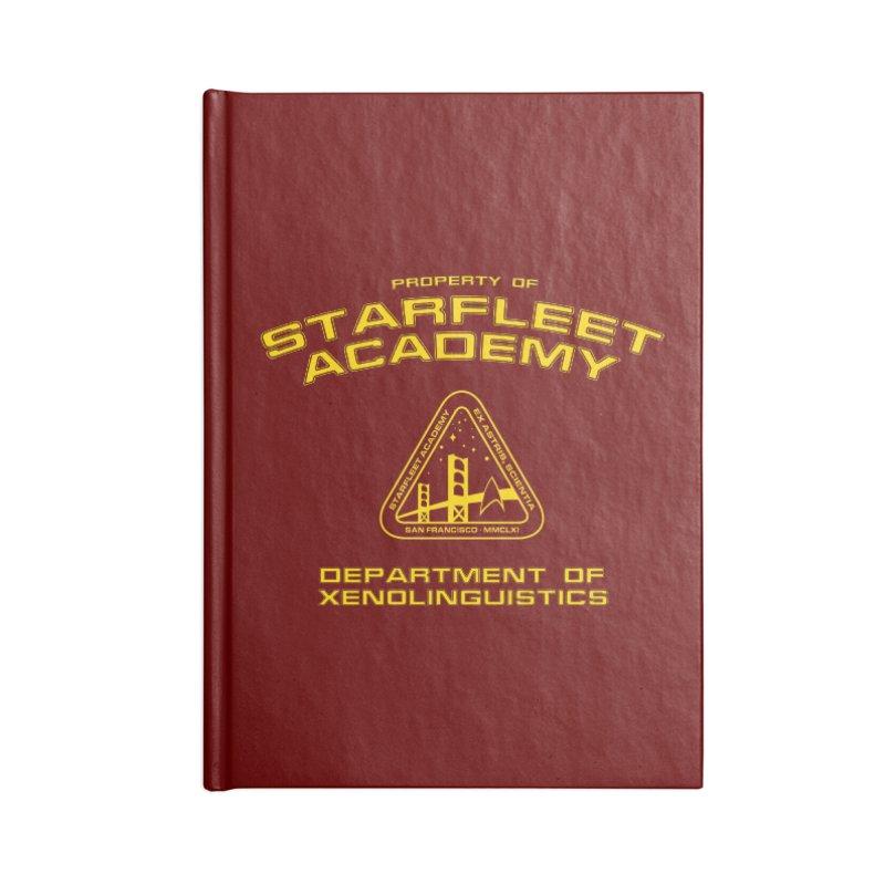 Starfleet Academy - Department of Xenolinguistics Accessories Notebook by khurst's Artist Shop
