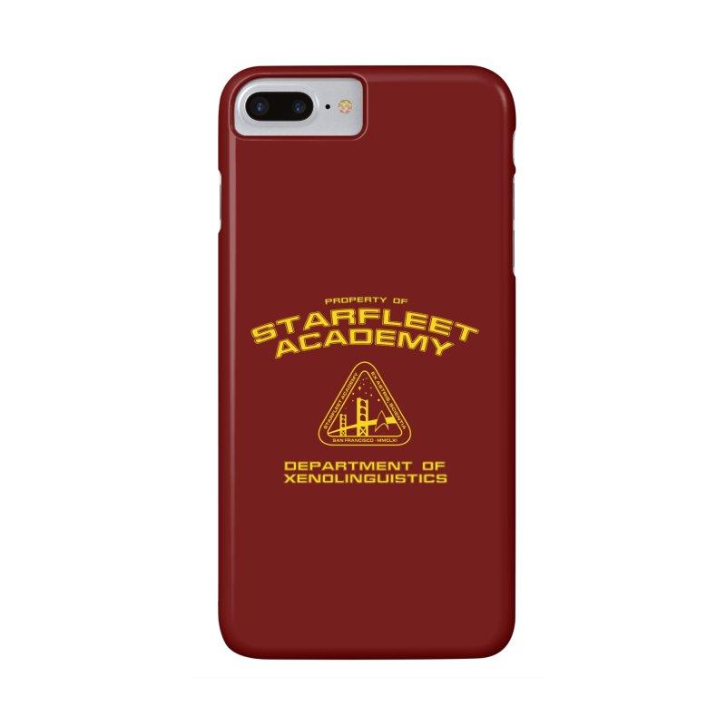 Starfleet Academy - Department of Xenolinguistics Accessories Phone Case by khurst's Artist Shop
