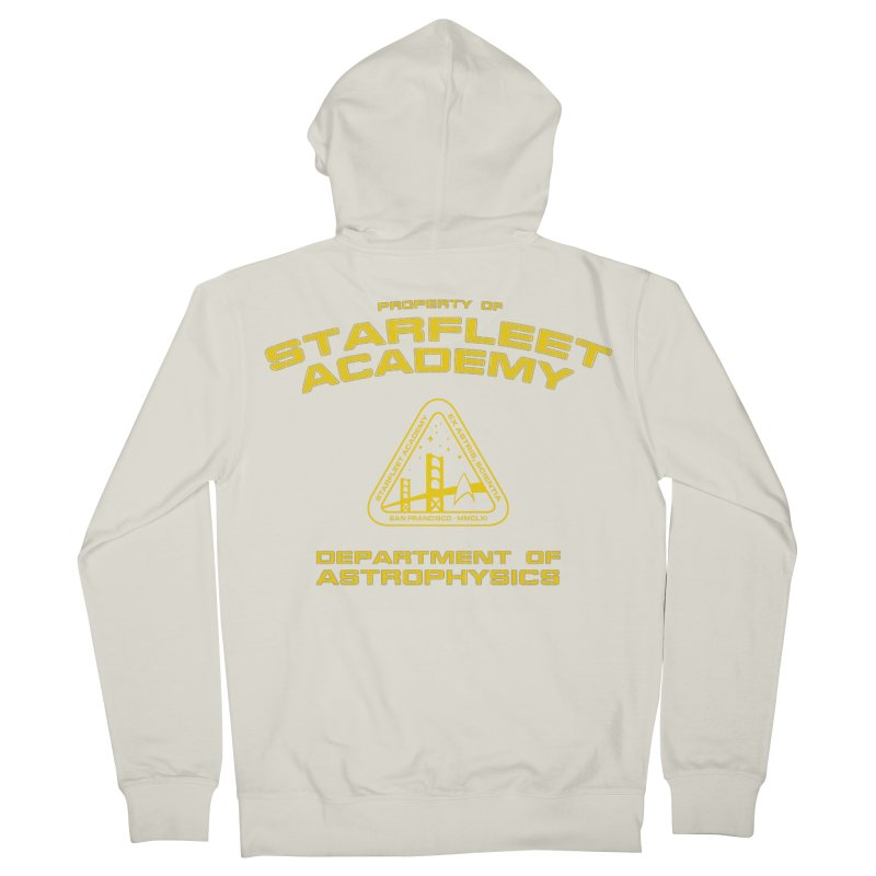 Starfleet Academy - Department of Astrophysics Men's Zip-Up Hoody by khurst's Artist Shop