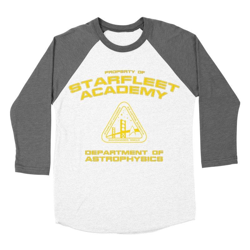 Starfleet Academy - Department of Astrophysics Men's Baseball Triblend T-Shirt by khurst's Artist Shop