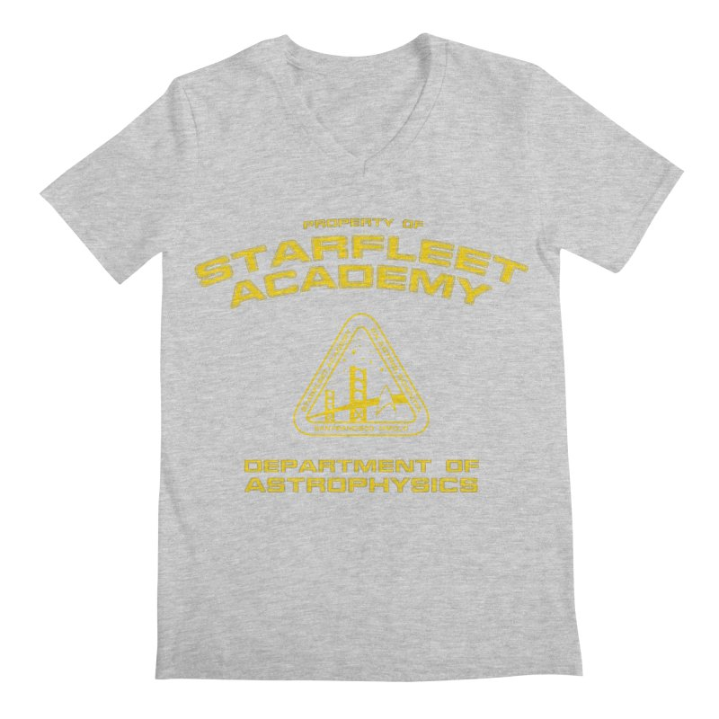 Starfleet Academy - Department of Astrophysics Men's V-Neck by khurst's Artist Shop