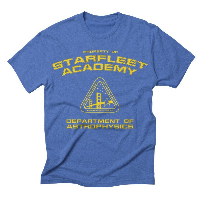 Starfleet Academy - Department of Astrophysics Men's Triblend T-shirt by khurst's Artist Shop