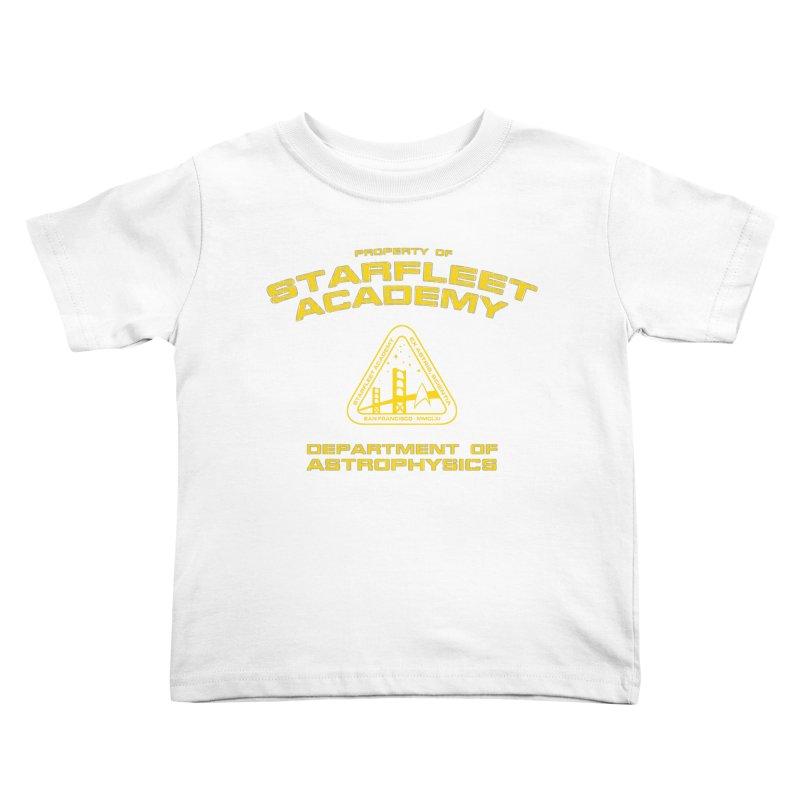 Starfleet Academy - Department of Astrophysics Kids Toddler T-Shirt by khurst's Artist Shop