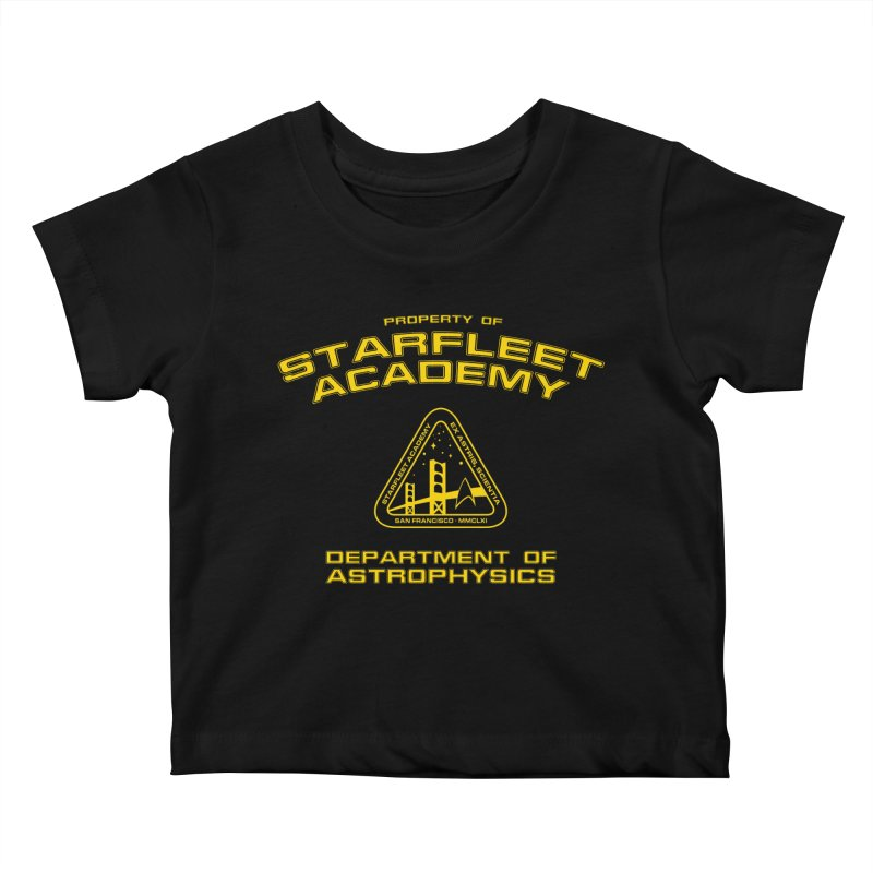 Starfleet Academy - Department of Astrophysics Kids Baby T-Shirt by To Boldly Merch