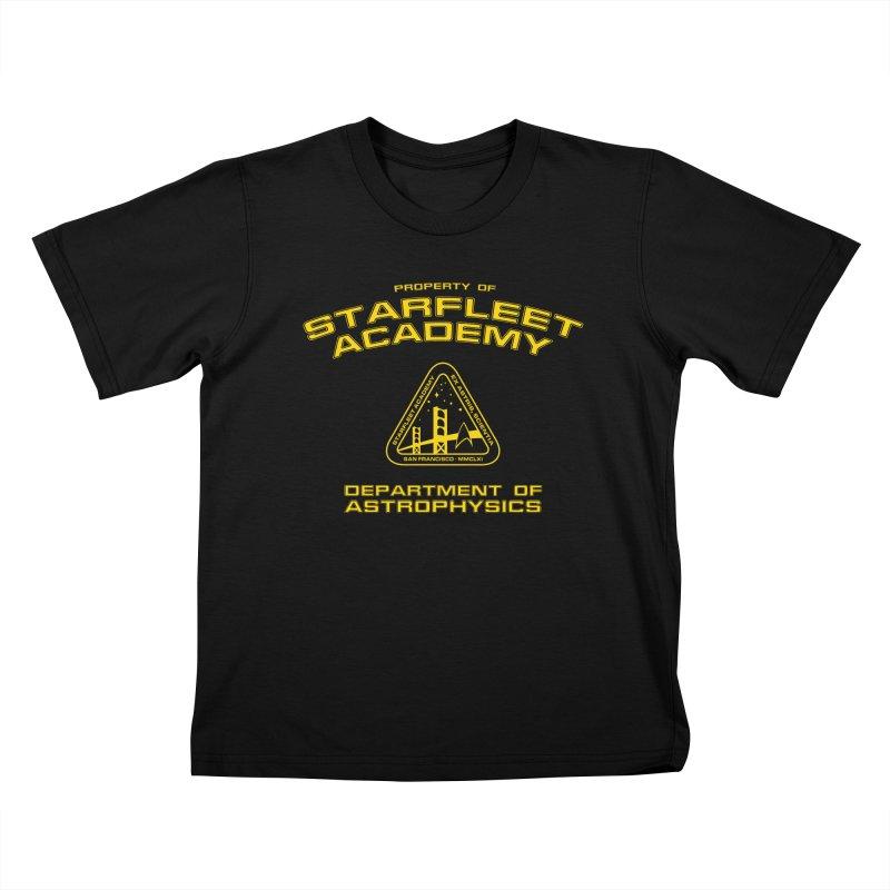Starfleet Academy - Department of Astrophysics Kids T-shirt by khurst's Artist Shop