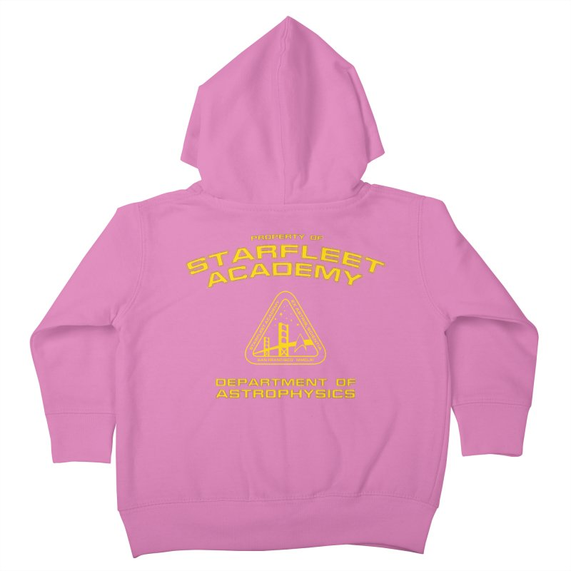 Starfleet Academy - Department of Astrophysics Kids Toddler Zip-Up Hoody by khurst's Artist Shop