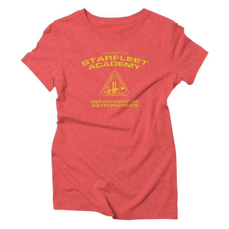 Starfleet Academy - Department of Astrophysics Women's Triblend T-shirt by khurst's Artist Shop