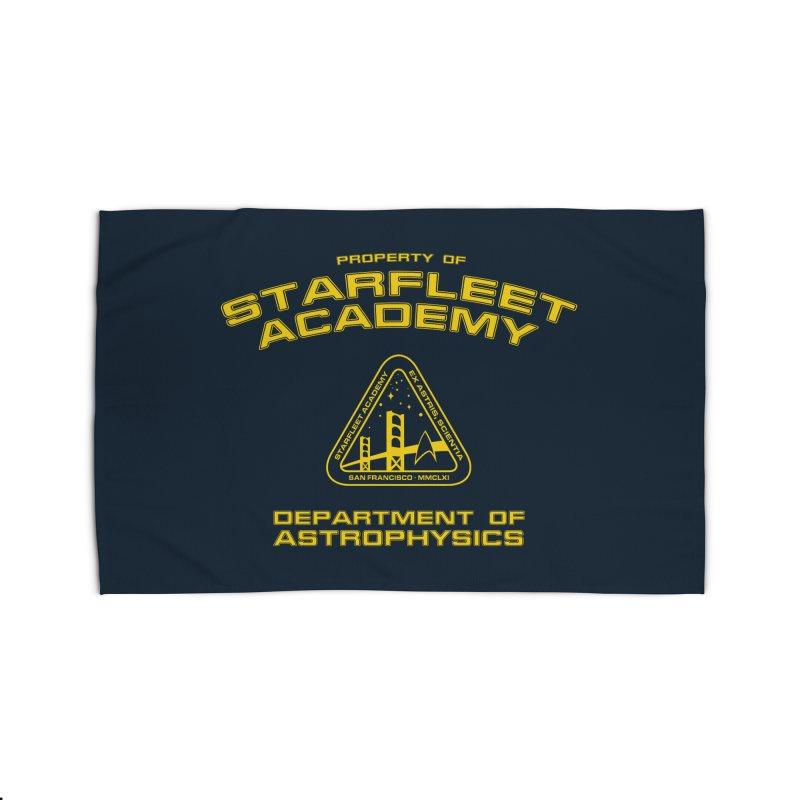 Starfleet Academy - Department of Astrophysics Home Rug by khurst's Artist Shop