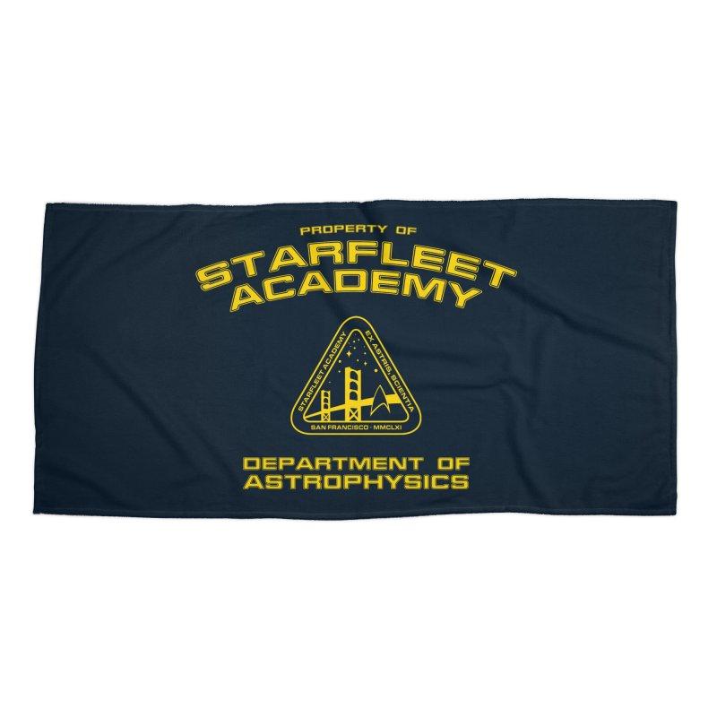 Starfleet Academy - Department of Astrophysics Accessories Beach Towel by khurst's Artist Shop