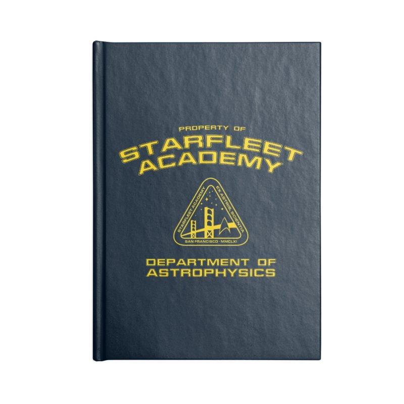 Starfleet Academy - Department of Astrophysics Accessories Notebook by khurst's Artist Shop