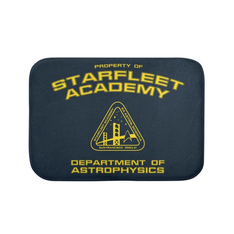 Starfleet Academy - Department of Astrophysics Home Bath Mat by khurst's Artist Shop