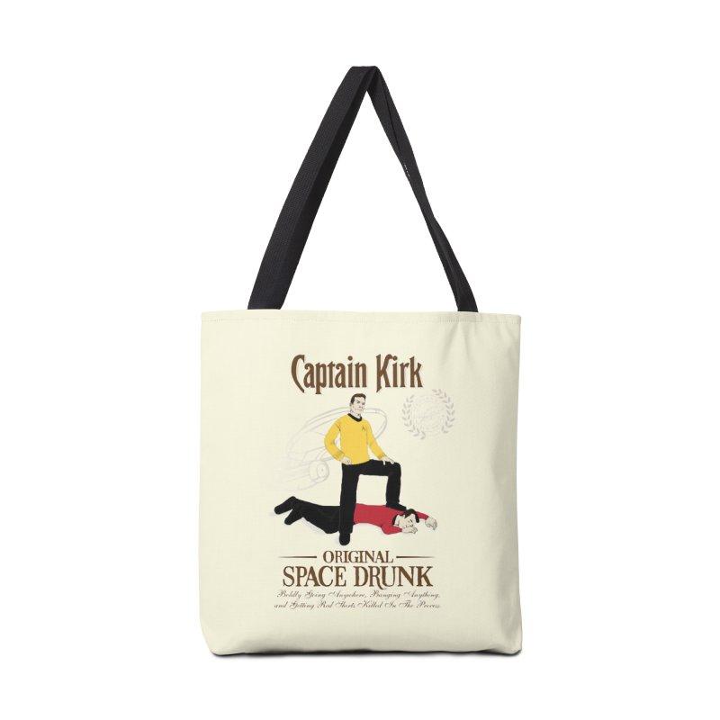 Captain Kirk - Original Space Drunk Accessories Bag by khurst's Artist Shop