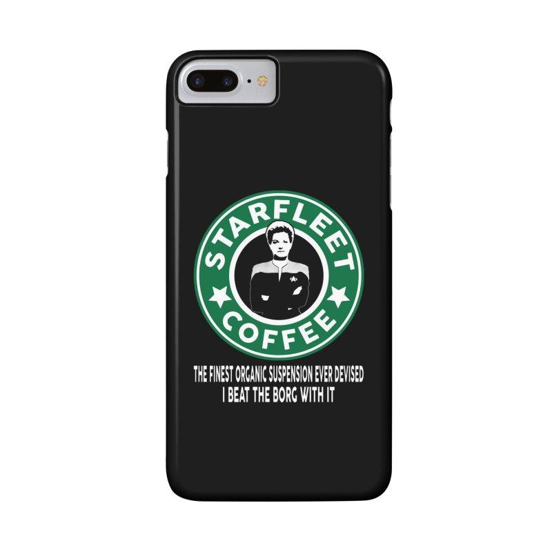Kathryn Janeway's Starfleet Coffee Accessories Phone Case by khurst's Artist Shop