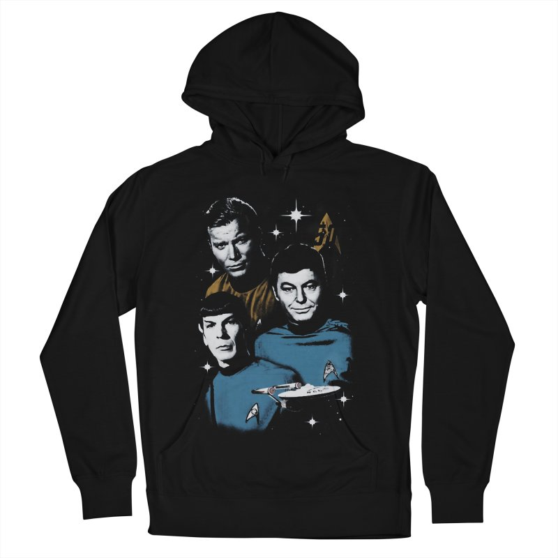 Star Trek - The Terrible Trio Men's Pullover Hoody by khurst's Artist Shop