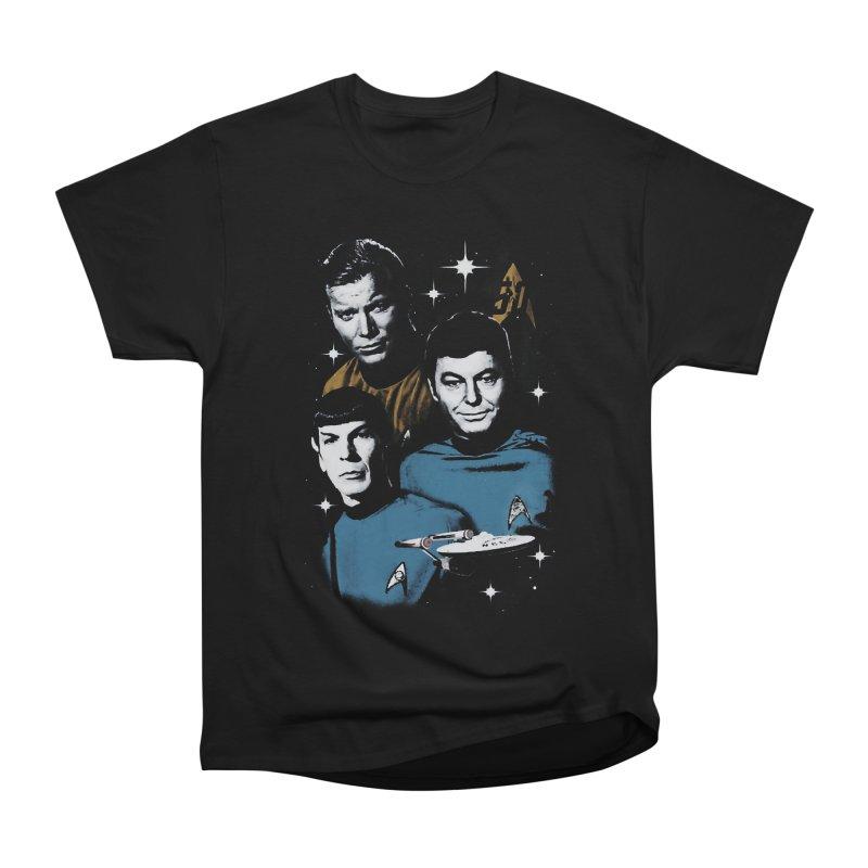 Star Trek - The Terrible Trio Women's Classic Unisex T-Shirt by khurst's Artist Shop