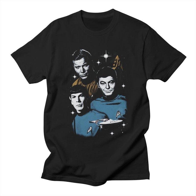 Star Trek - The Terrible Trio Men's T-shirt by khurst's Artist Shop