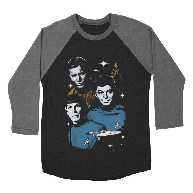 Star Trek - The Terrible Trio Women's Baseball Triblend T-Shirt by khurst's Artist Shop