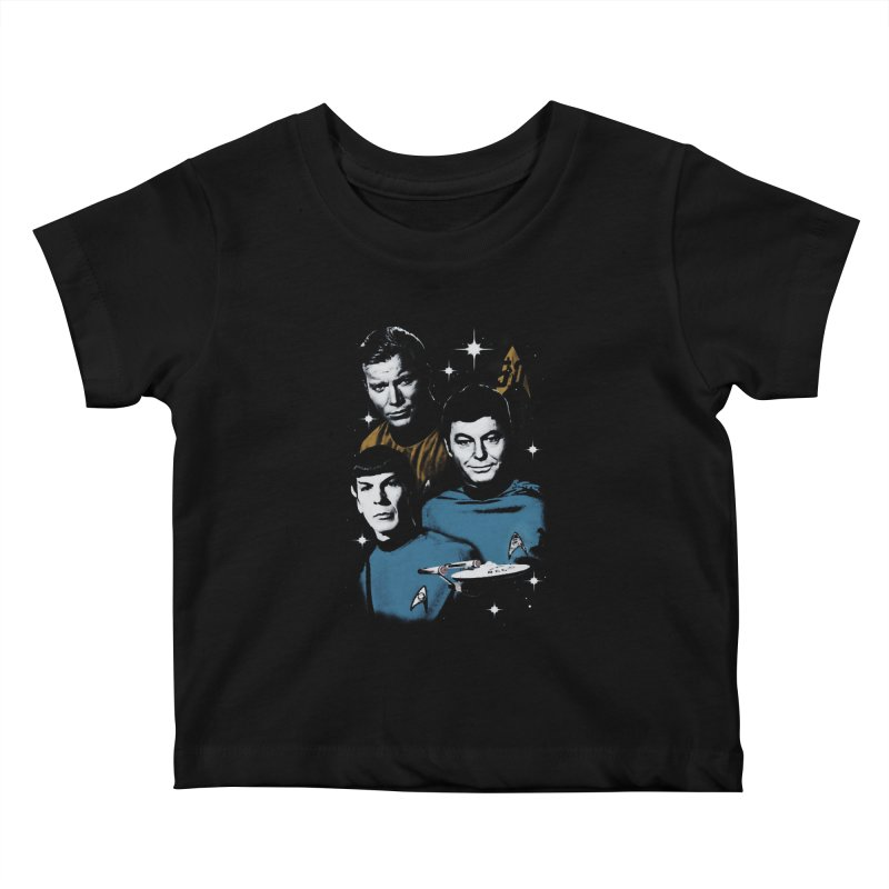 Star Trek - The Terrible Trio Kids Baby T-Shirt by khurst's Artist Shop
