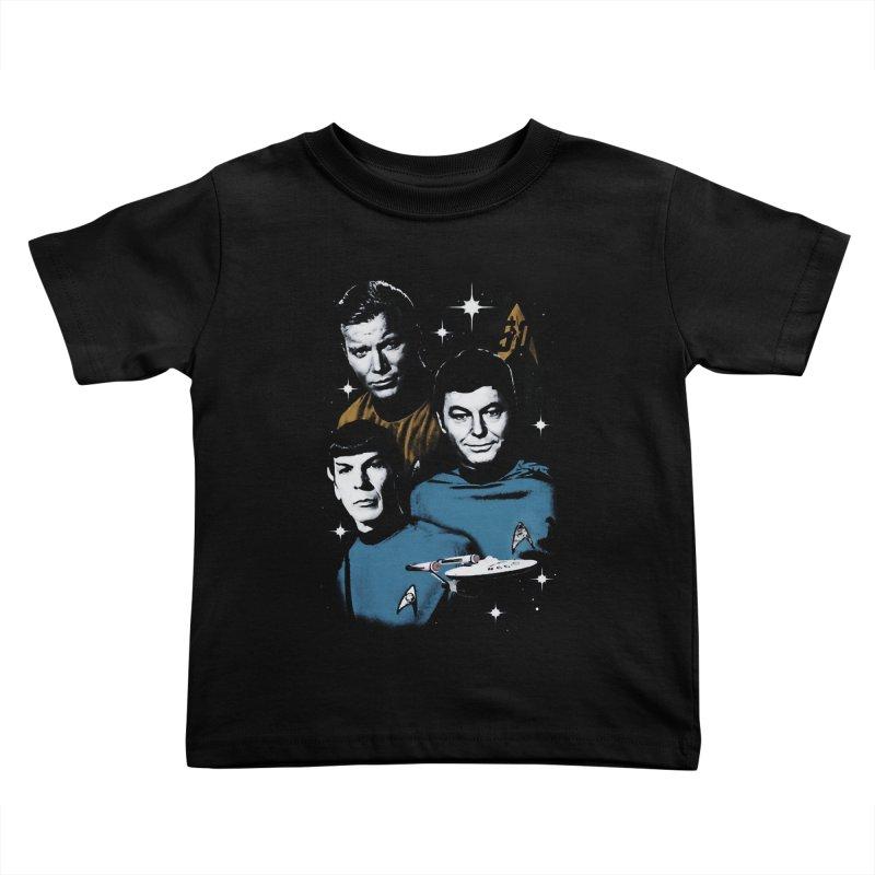 Star Trek - The Terrible Trio Kids Toddler T-Shirt by khurst's Artist Shop