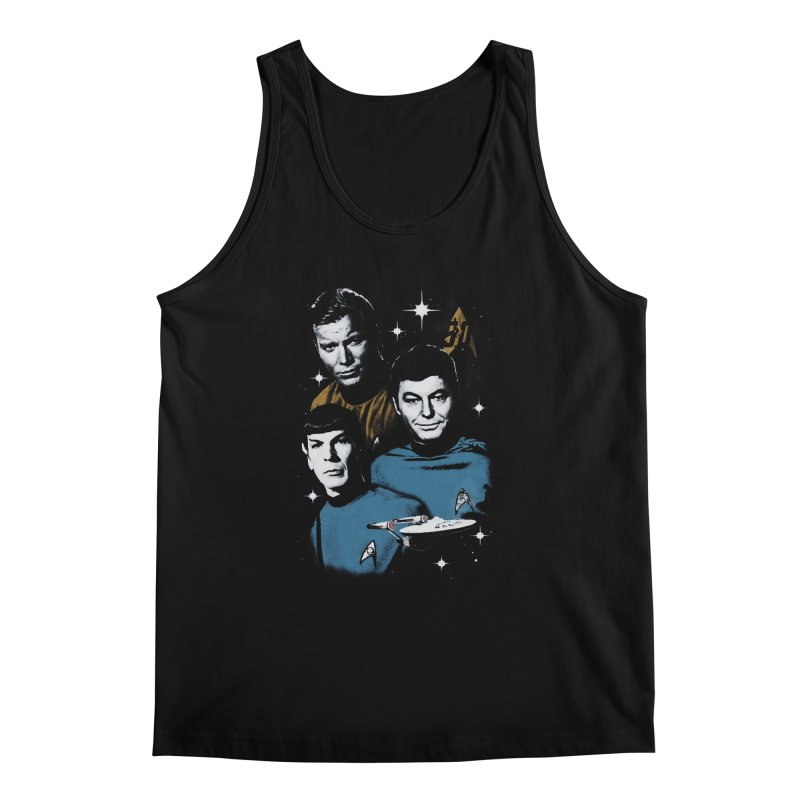Star Trek - The Terrible Trio Men's Tank by khurst's Artist Shop