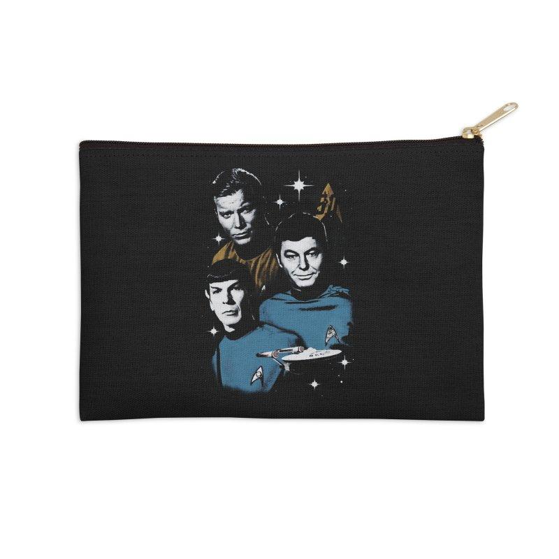 Star Trek - The Terrible Trio Accessories Zip Pouch by khurst's Artist Shop