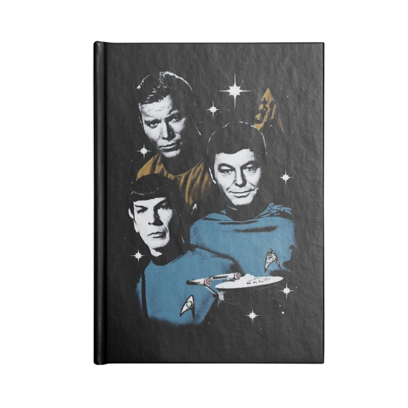 Star Trek - The Terrible Trio Accessories Notebook by khurst's Artist Shop