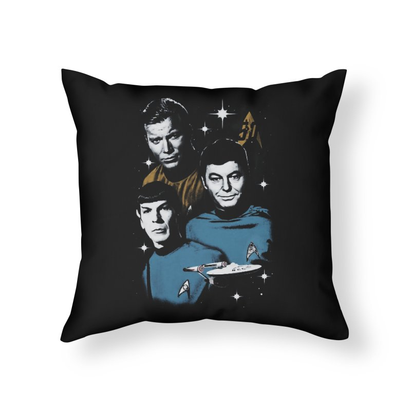 Star Trek - The Terrible Trio Home Throw Pillow by khurst's Artist Shop