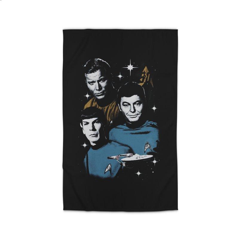 Star Trek - The Terrible Trio Home Rug by khurst's Artist Shop